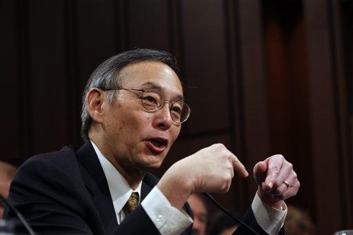 Energy Secretary Steven Chu.