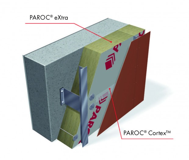 Mazgas su PAROC ® Cortex™