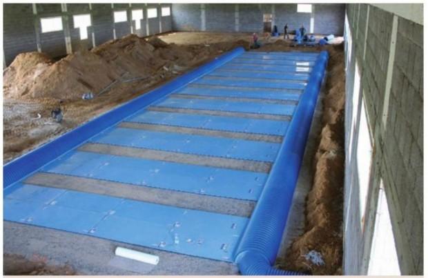 Tvarte įrengti gruntiniai šilumos mainikliai šiluminės energijos pasiims ir iš mėšlo.