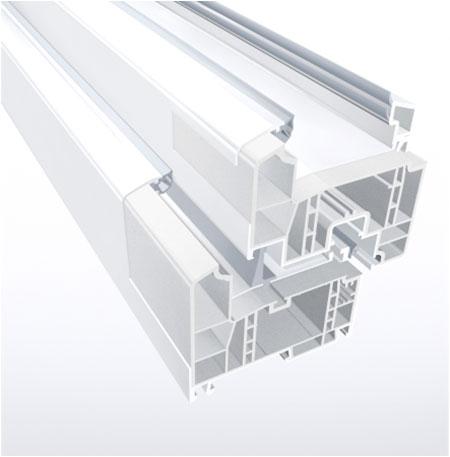 Energiškai efektyvių langų profiliuose plieninę armatūrą keičia specialios stabilumą užtikrinančios medžiagos, pasižyminčios geresnėmis šilumos izoliacinėmis savybėmis.