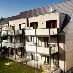 Vėdinamo fasado įrengimas modernizuojant būstą Hattingen'e