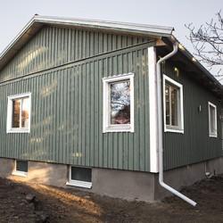 Individualaus namo renovacija Švedijoje