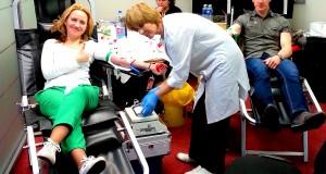 """""""Conresta"""" darbuotojai dalyvavo neatlygintinos kraujo donorystės akcijoje"""